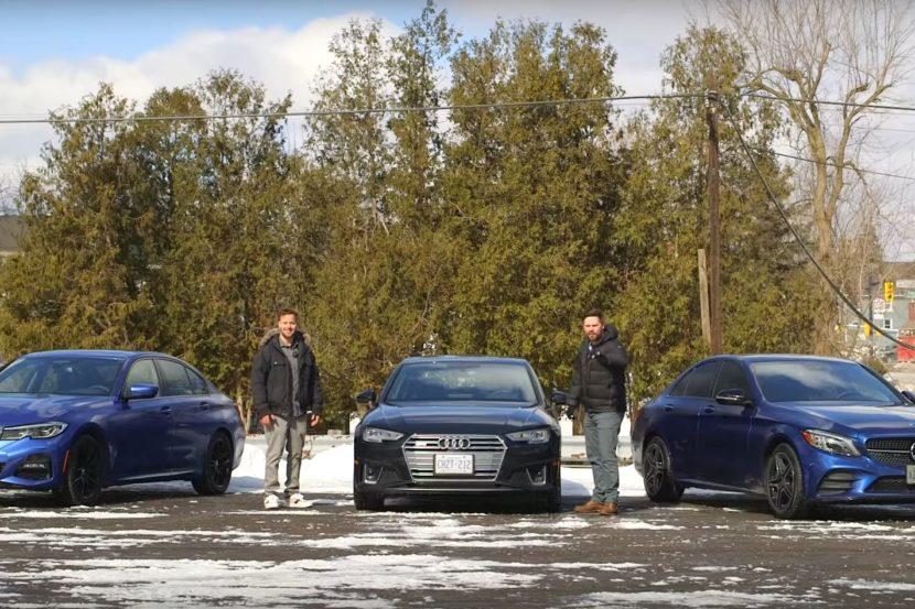 BMW Serie 3 contro Audi A4 contro Mercedes Classe C