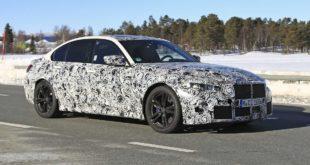 BMW M3 G80 avvistata da Motor1.com