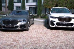 BMW Serie 7 e BMW X7 a confronto ne la guerra dei reni