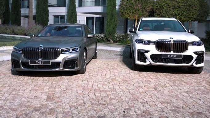 BMW Serie 7 e BMW X7: a confronto le griglie dei reni