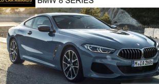 BMW Serie 8 finalista per auto di lusso dell'anno