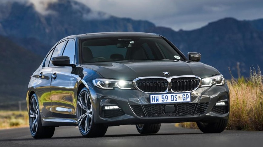 BMW Serie 3 320d in Mineral Grey