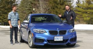 BMW Serie 2 M240i vista frontalmente