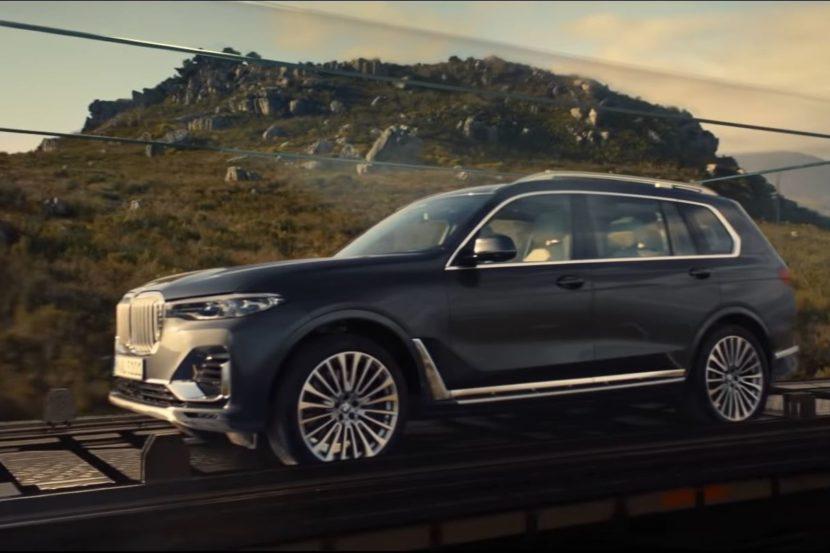 Nuovo TV Spot della BMW X7