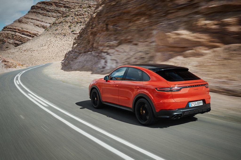 Porsche Cayenne Coupé vista posteriormente