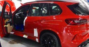 BMW X5 M Competition, ecco le prime foto