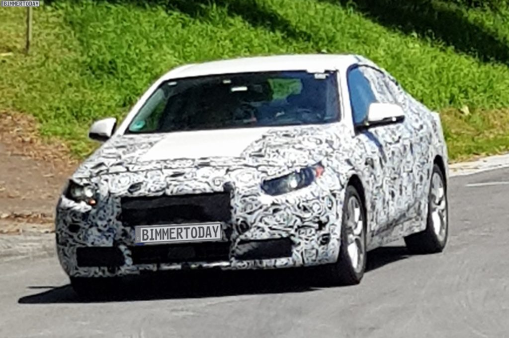 BMW Serie 2 Gran Coupé in un nuovo video spia