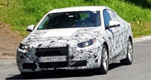 BMW Serie 2 Gran Coupé in un nuovo video spia