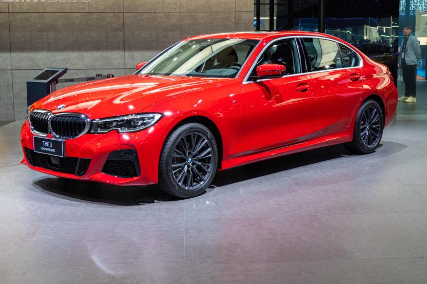 BMW Serie 3 passo lungo a Shaghai