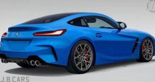 BMW Z4 M Coupé, ecco il rendering