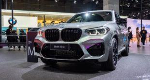 BMW X3 M Competition al salone di Shanghai 2019
