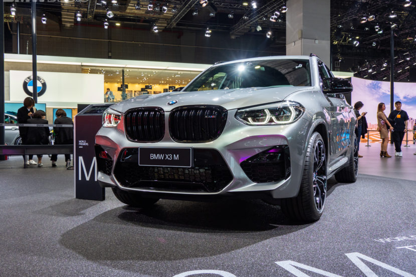 BMW X3 M Competition al salone di Shanghai 2019