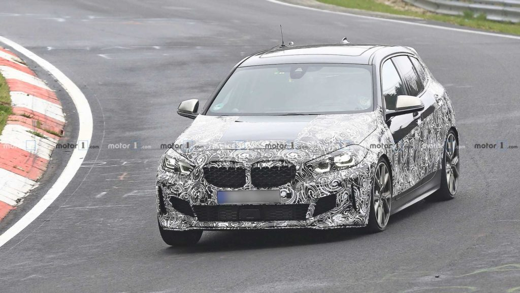 BMW Serie 1 M135i in nuove foto spia