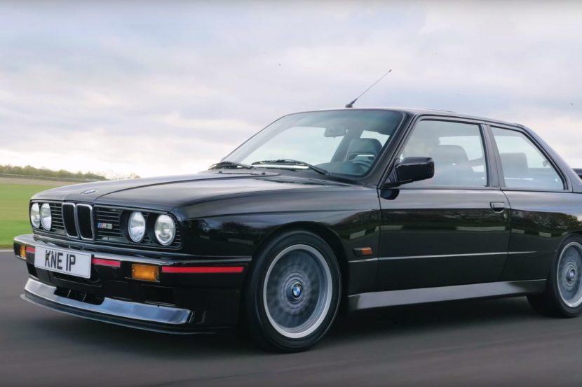 Un'esperienza a bordo della BMW M3 E30 Sport Evo