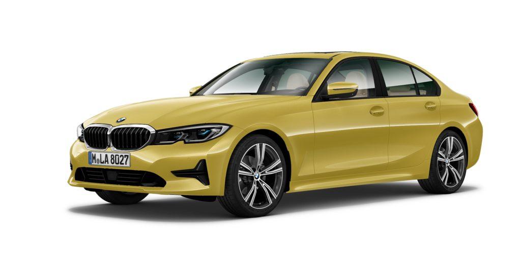 BMW Serie 3 in uno degli 84 colori