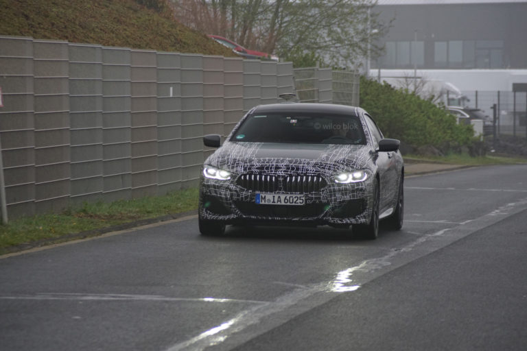 BMW M850i Gran Coupé in nuove foto spia