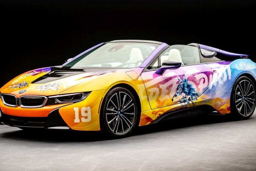Ecco la BMW i8 designed By Khalid