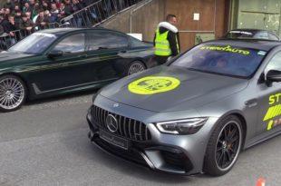 ALPINA B7 VS Mercedes-AMG GT63 S