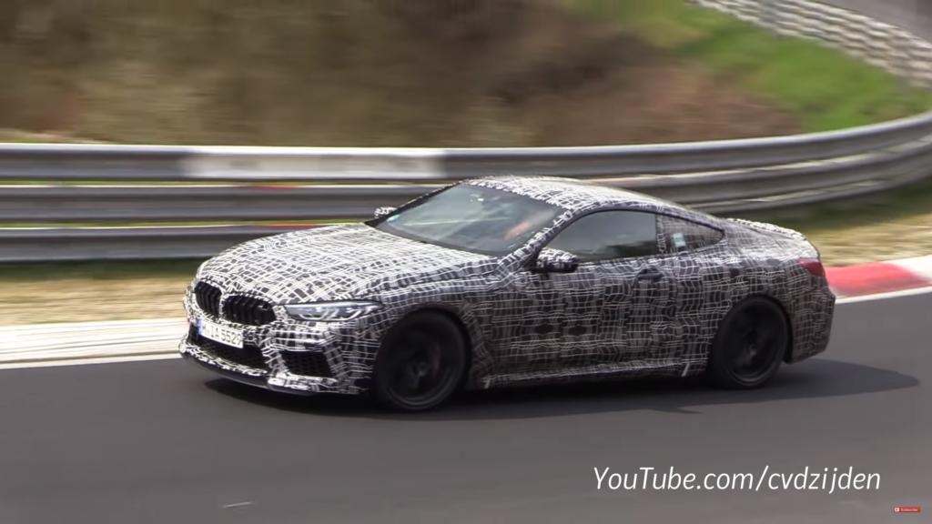 BMW M8 al Nurburgring