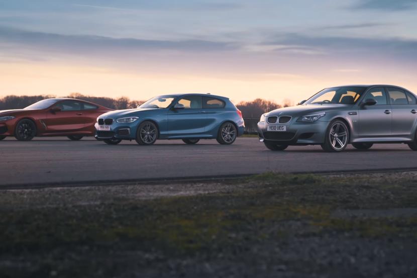 BMW 840d vs M140i vs M5 E60