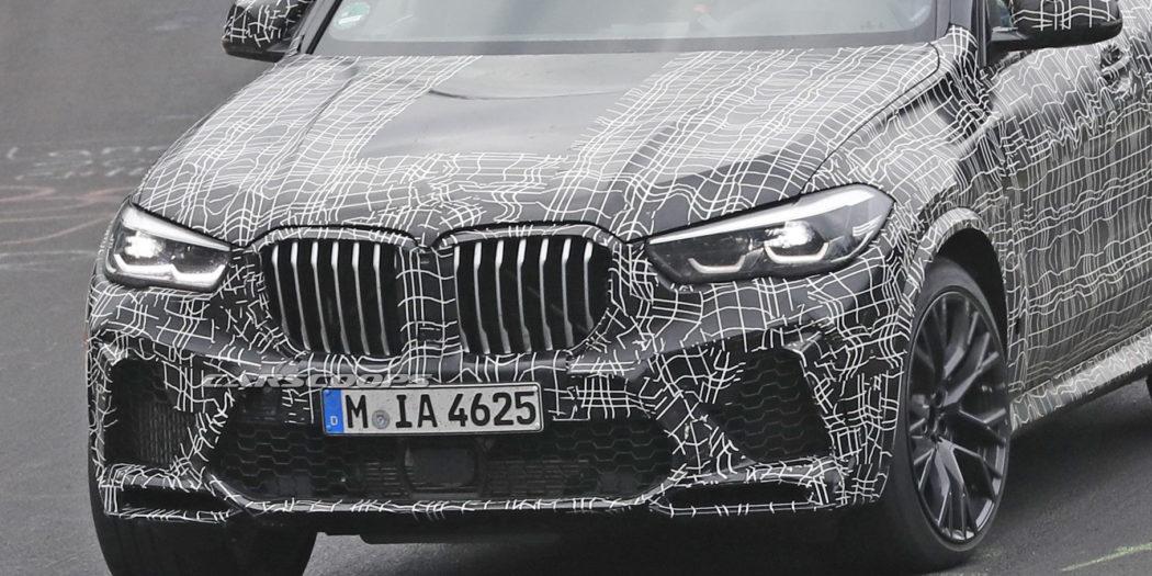 BMW X5 M sul Nurburgring
