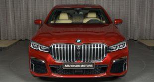 BMW 730Li con colore Aventurine Red II