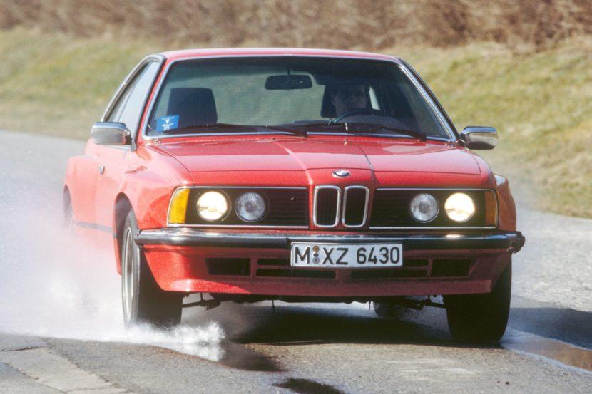 BMW Serie 6 E24 con motore V12