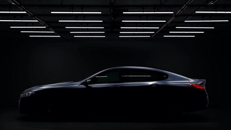BMW Serie 8 Gran Coupé nelle prime foto teaser