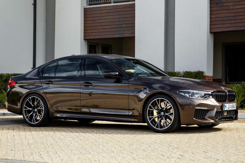 BMW M5 della Polizia Australiana