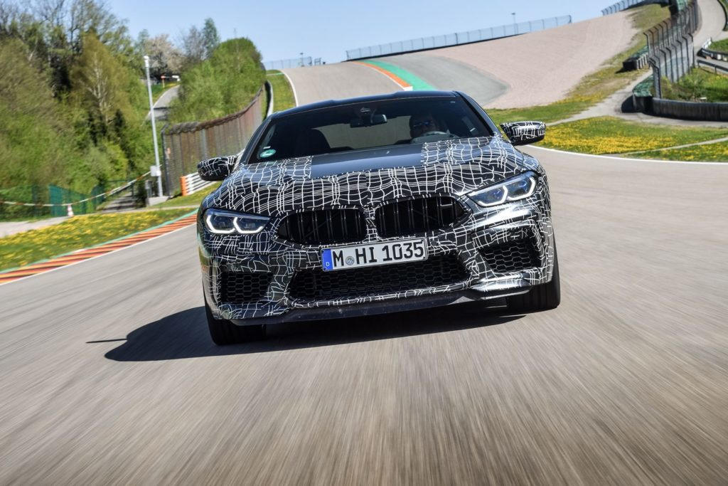 BMW M8 presenterà la M Mode