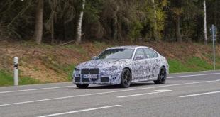 BMW M3 G80 in arrivo a settembre