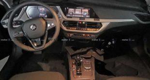 Interni della BMW Serie 1