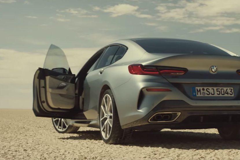 BMW Serie 8 Gran Coupé finalmente svelata