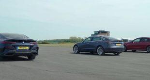 BMW M850i sfida Tesla e AMG