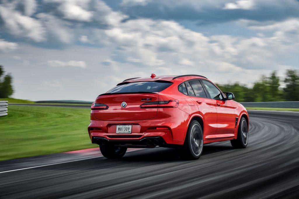BMW X4 M Competition velocissima nello 0-100