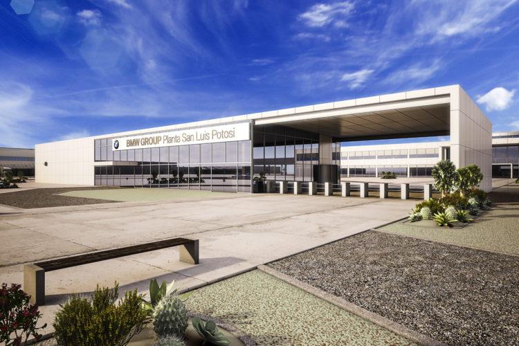 Impianto di BMW in Messico