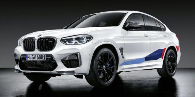BMW X3 M e X4 M con parti M Performance