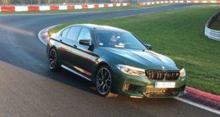 BMW M5 Competition con un tempo da record