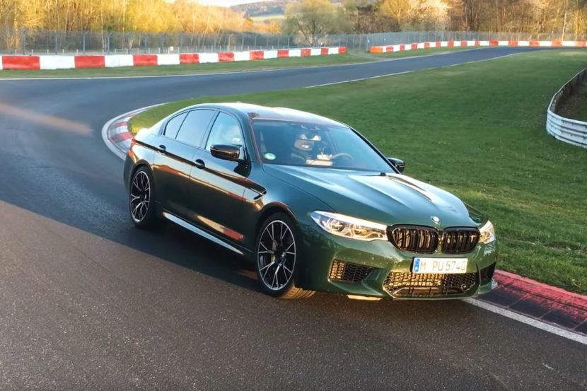 BMW M5 Competition con un tempo da record