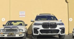 Nuove griglie per la BMW X7