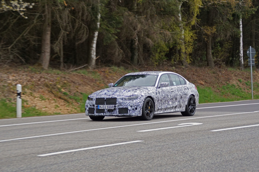 BMW M3 G80 in arrivo l'anno prossimo