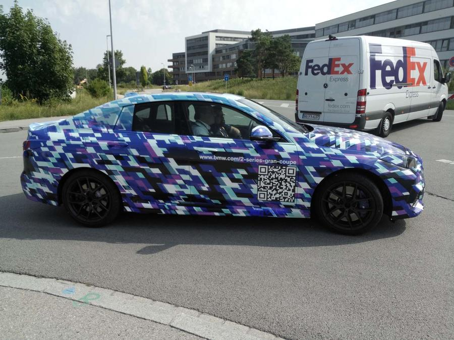 BMW Serie 2 Gran Coupé avvistata nuovamente