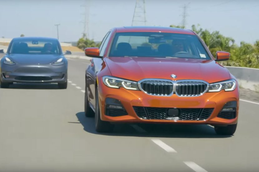 BMW Serie 3 vs Tesla Model 3,v quale vincerà?