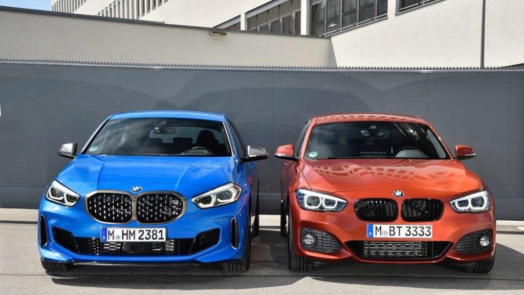 BMW F40 contro F20, ecco il confronto