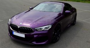 Ecco una particolare BMW Serie 8 color Twilight Purple
