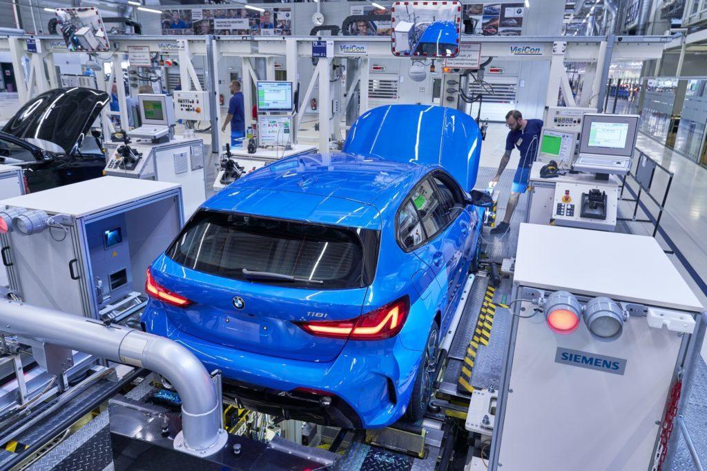 Cominciata la produzione della BMW Serie 1 F40