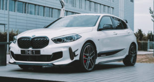 BMW M135i con parti M Performance