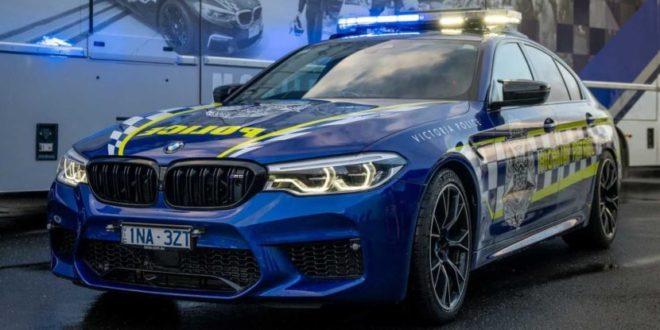 Ecco la BMW M5 Competition della polizia australiana