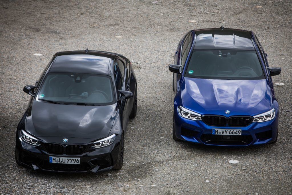 BMW M2 Competition vs BMW M5 Competition