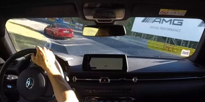 Ecco la BMW M3 e Toyota Supra affrontarsi al Nurburgring
